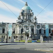 City Hall, Belfast, Northern Ireland Stock Photos