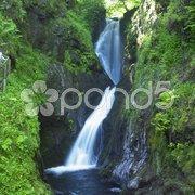 Glenariff Waterfalls, County Antrim, Northern Ireland Stock Photos