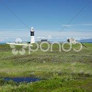 Lighthouse, Rathlin Island, Northern Ireland Stock Photos