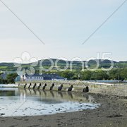 Bridge, Malin, County Donegal, Ireland Stock Photos