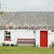 Cottage, Malin Head, County Donegal, Ireland Stock Photos