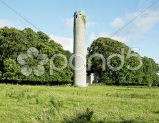Kilree Monastic Site, County Kilkenny, Ireland Stock Photos