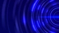 Animated motion background - futuristic science fiction effect rotation Stock Footage