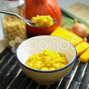 Pumpkin rice Stock Photos
