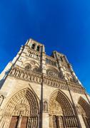 Cathedral Notre Dame de Paris Stock Photos
