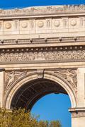 Arc de Triomphe (1808), Paris Stock Photos