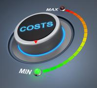 Cost Stock Illustration