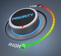 Priority Stock Illustration