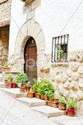 Cirauqui, Road to Santiago de Compostela, Navarre, Spain Stock Photos