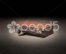 Forgotten luggage Stock Photos