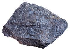 Chromite rock (chromium ore) isolated Stock Photos