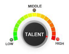 Talent Stock Illustration