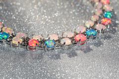 Colorful Opal Bracelet Stock Photos