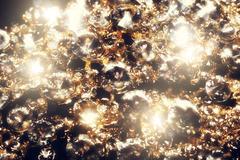 Diamonds and Gold Macro Kuvituskuvat
