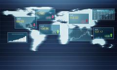 Stock exchange concept Stock Illustration