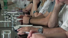 Business corporate meeting  Stock Footage