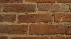 Plain Brick Wall Background Stock Footage
