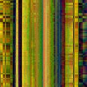 Glitch Colorful abstract background for your designs. Chaos aesthetics of signal Stock Illustration
