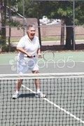 Active Senior Woman - Tennis Stock Photos