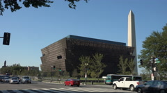 Museum of African American History and Culture, DC Stock Footage