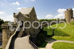 Fougeres, Brittany, France Stock Photos
