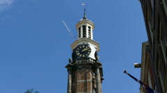 Winery tower in town of Zutphen Stock Footage