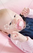 Baby''s portrait Stock Photos