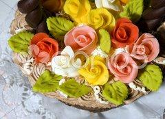 Cake''s detail Stock Photos
