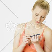 Nail nursing Stock Photos