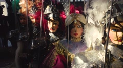 SICILIAN PUPPETS Stock Footage