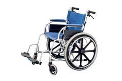 Wheelchair isolated on white background Stock Photos