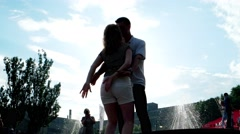 Street dance, salsa Stock Footage