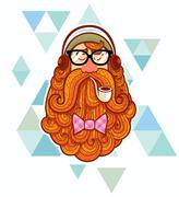 Hipster Stock Illustration