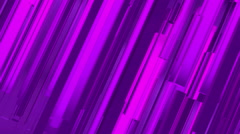 Abstract 3d purple rectangles and lines background Stock Footage