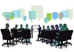 Meeting brainstorming Seminar Piirros