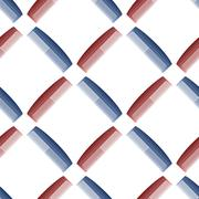 Plastic Combs Seamless Pattern. Barber Supplies Stock Illustration