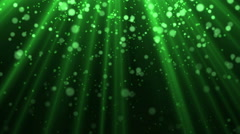 Motion background light beams and particles Stock Footage