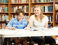 Student Mentoring Program Stock Photos