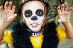 Fright of Halloween Stock Photos