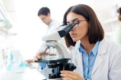Lab research Stock Photos
