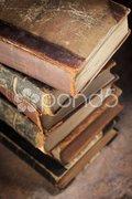 Old literature Stock Photos