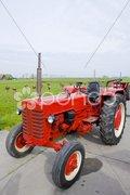 Tractor, Noord Holland, Netherlands Kuvituskuvat