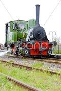 Steam locomotive, Hoorn - Medemblik, Noord Holland, Netherlands Stock Photos