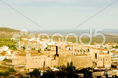 Guadalupe, Caceres Province, Extremadura, Spain Stock Photos