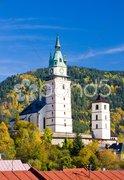 Church of St. Catherine, Kremnice, Slovakia Stock Photos