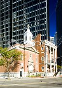Shrine of Saint Elizabeth Ann Seton, Manhattan, New York City, USA Stock Photos