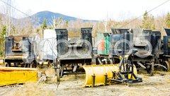 Mount Washington Cog Railway, Bretton Woods, New Hampshire, USA Stock Photos