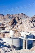Hoover Dam, Arizona-Nevada, USA Stock Photos