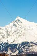 Krivan, Vysoke Tatry (High Tatras), Slovakia Stock Photos