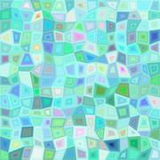Light color irregular rectangle mosaic background Stock Illustration